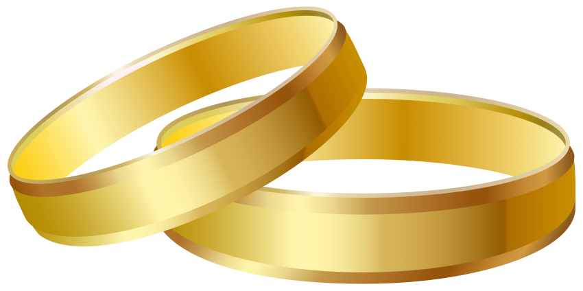 Gold wedding rings png. Free images toppng transparent