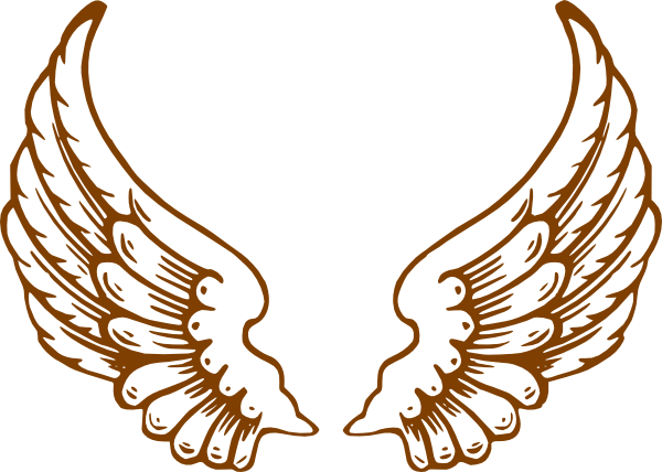 Golden angels wings png. Angel clip art at