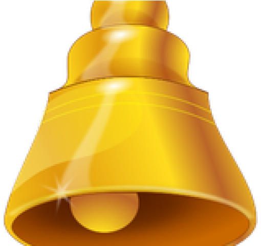 Golden bell png. Download image with no