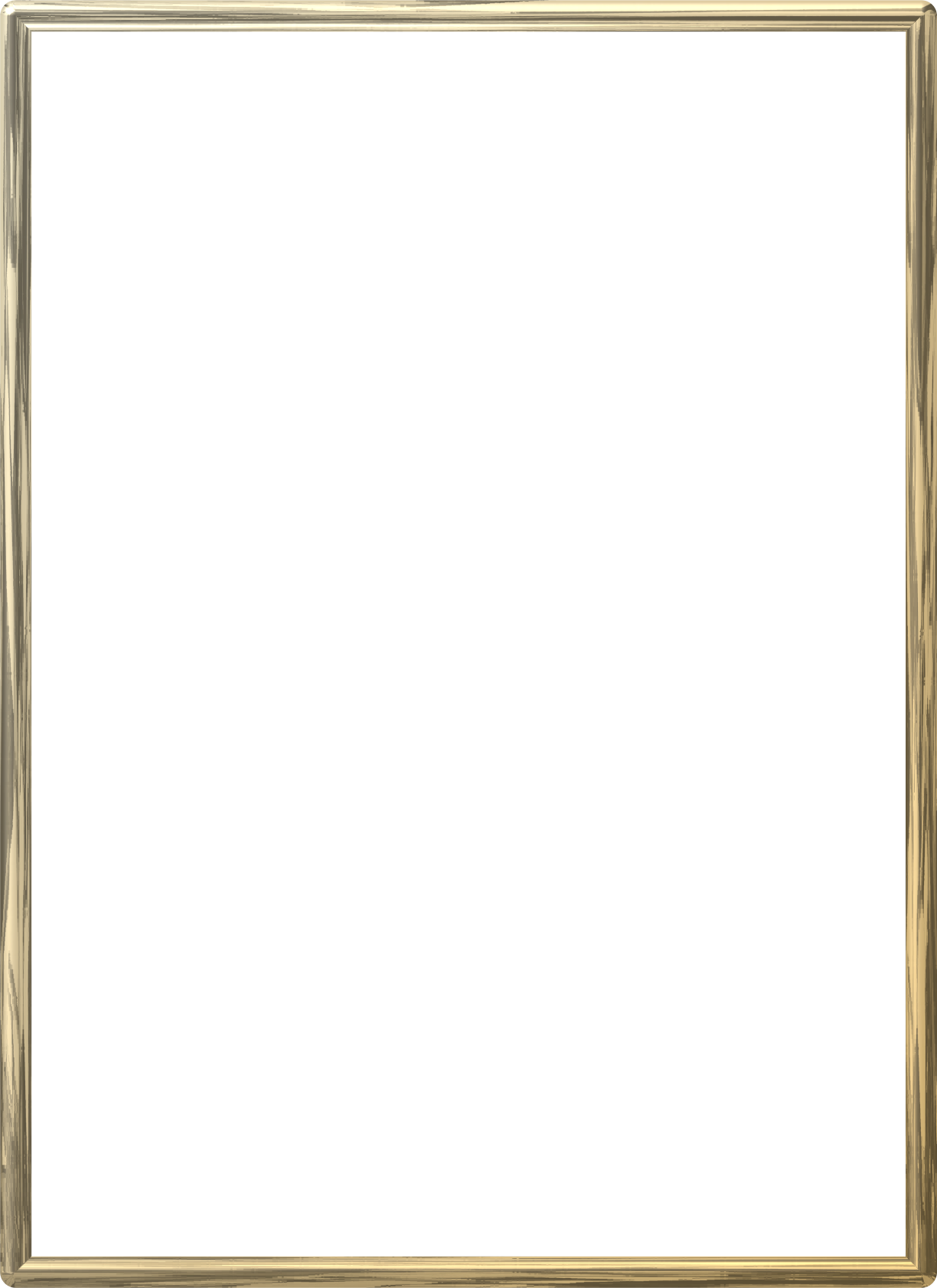 Golden border png. Gold frame photo mart