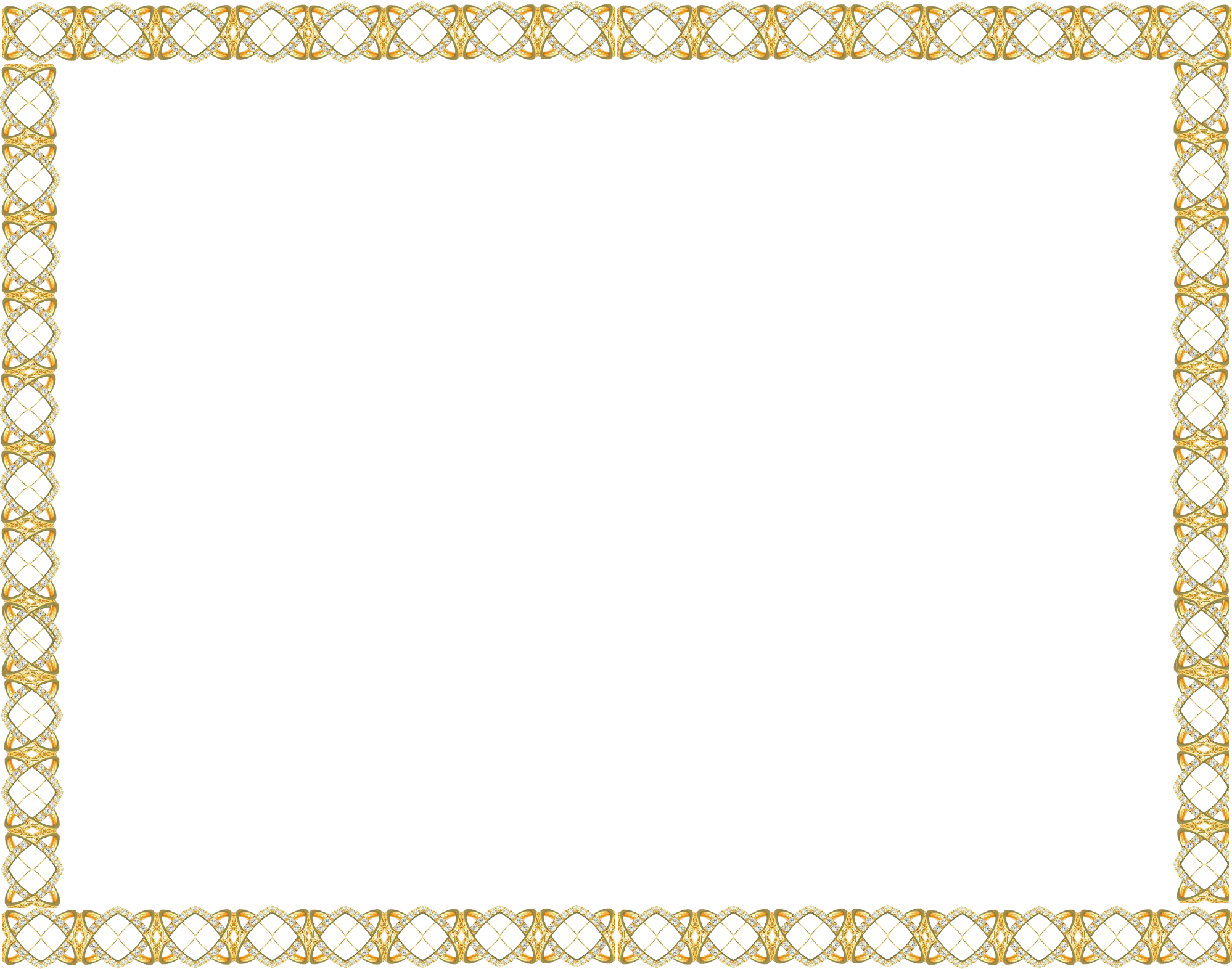 Golden border png. Free icons and backgrounds