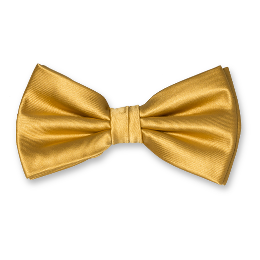 Golden bow png. Cheap ties polyester tie