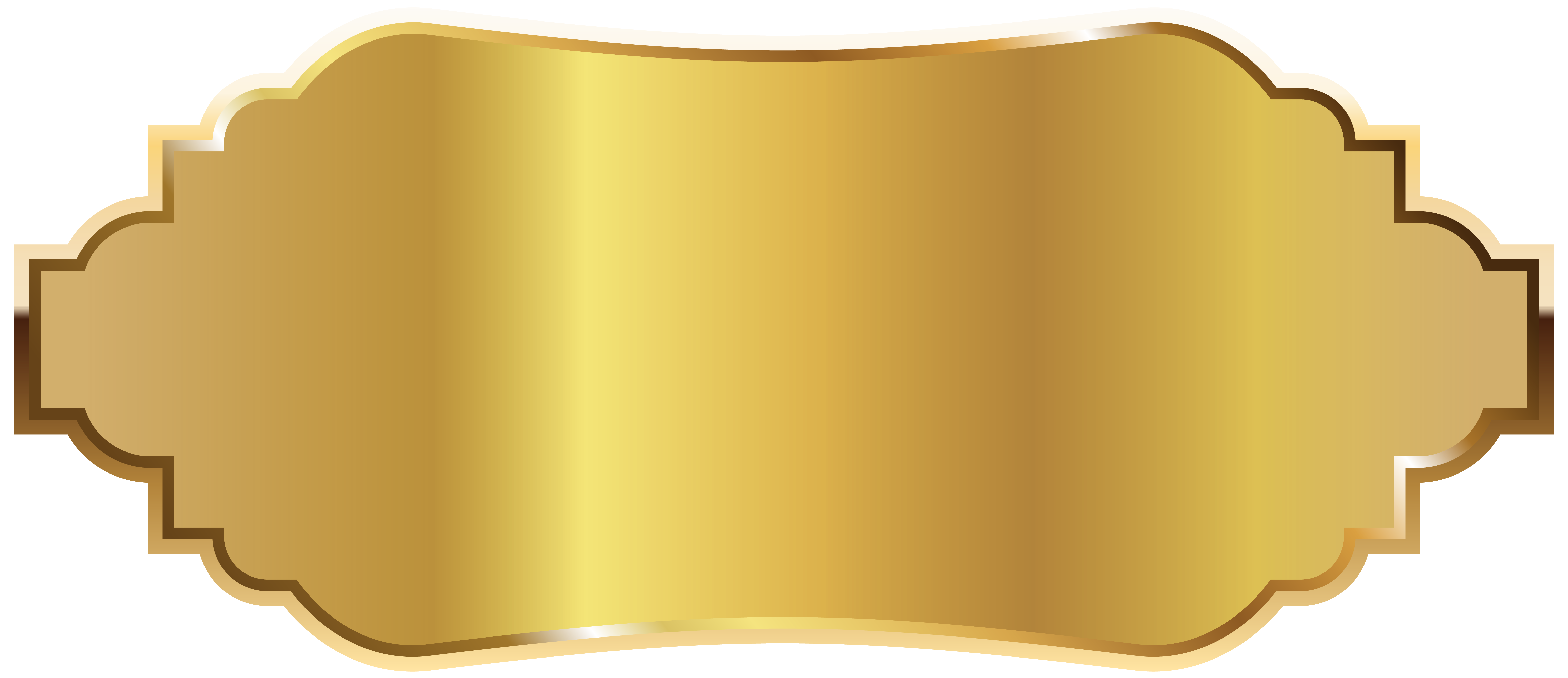 Golden clipart. Label png picture gallery