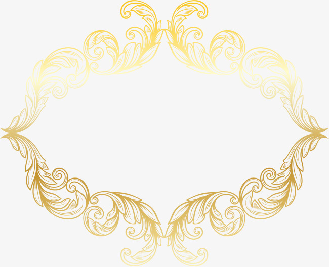 Flare frame shine png. Golden clipart picture black and white