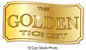 Ticket illustrations and stock. Golden clipart jpg royalty free library