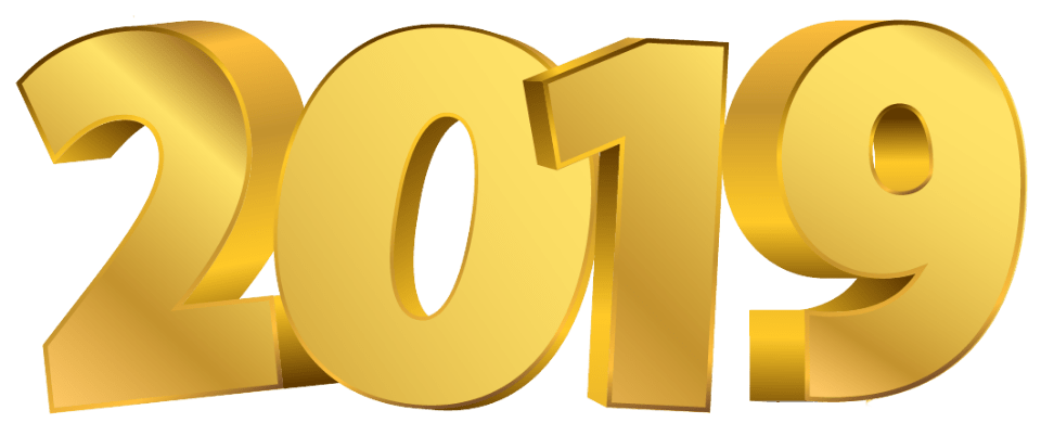 golden digits transparent. Happy new year gold png jpg library library