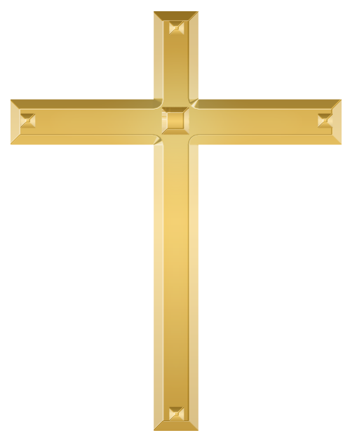 Golden cross png. File christian wikimedia commons