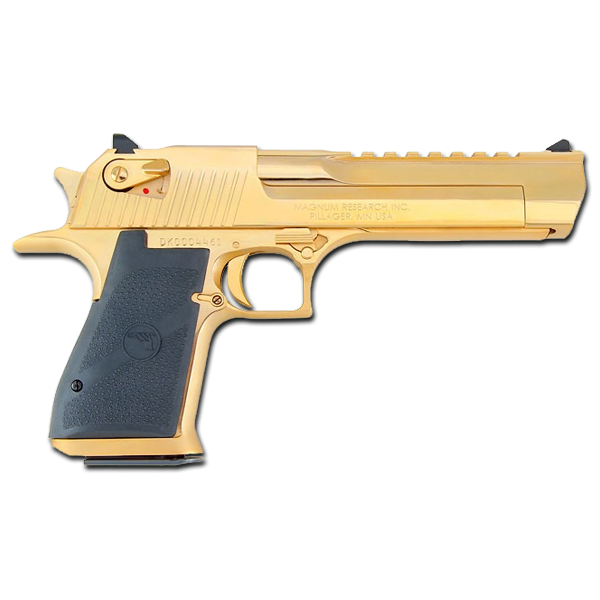 Golden desert eagle png. Magnum research mark xix