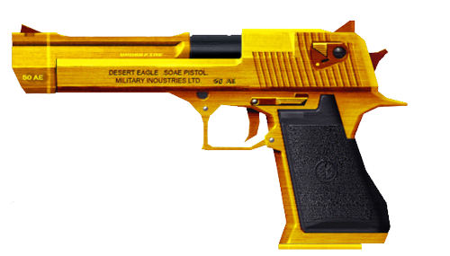 Golden desert eagle png. Image gold crossfire wiki