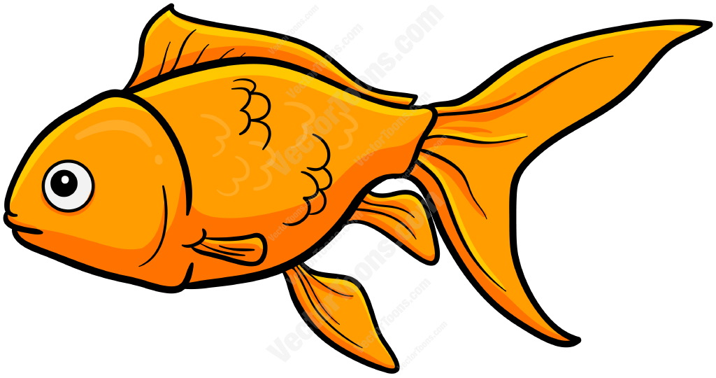 Golden fish. Gold clipart free download