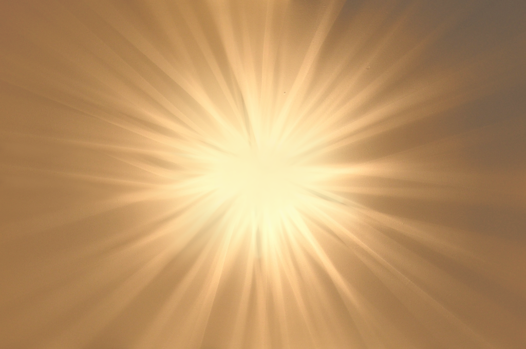 Sunlight rays png. Golden light stock by