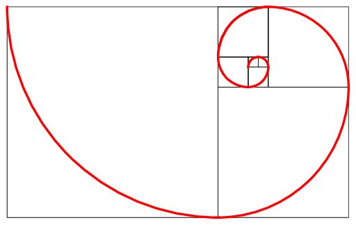 Golden spiral png. The fibonacci download scientific