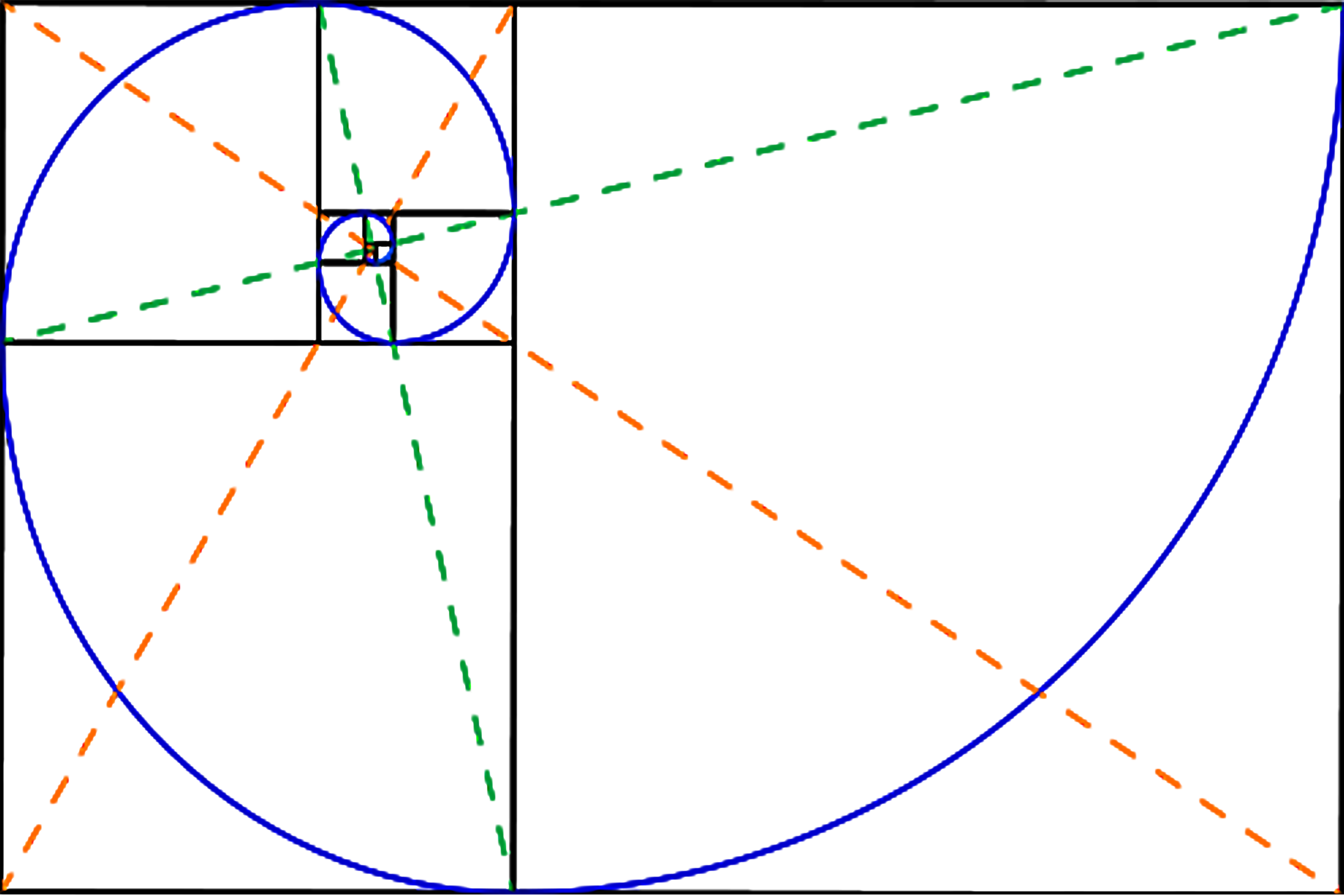 Golden spiral png. Ratio overlays triangle