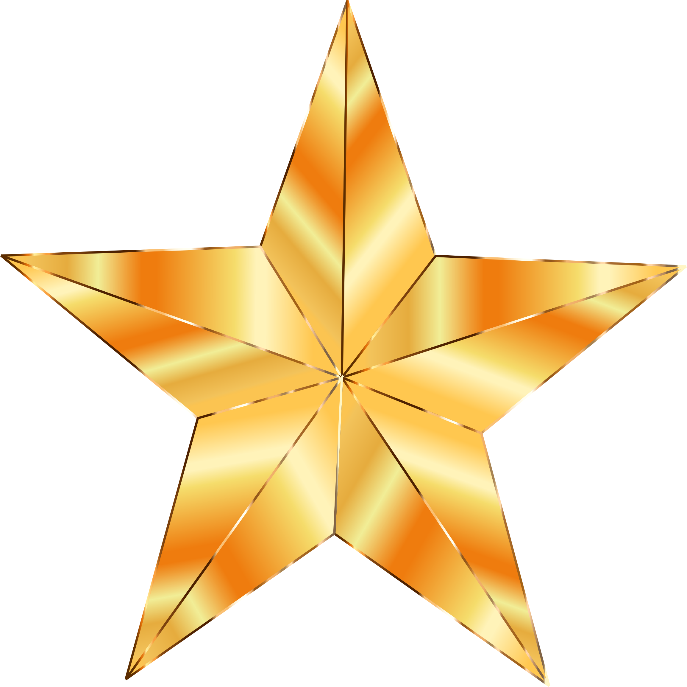 Golden star png. Icons free and downloads