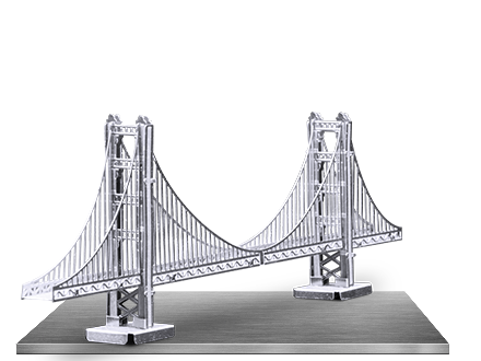 Golden state bridge png. Innovatoys metal earth online