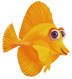 Goldfish clipart transparent background. Fish png images download
