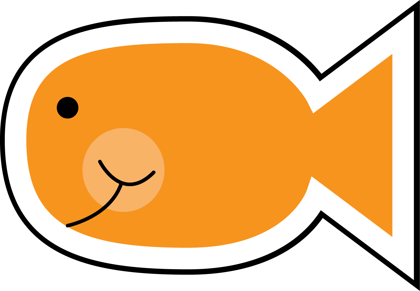 Goldfish cracker png. Collection of drawing