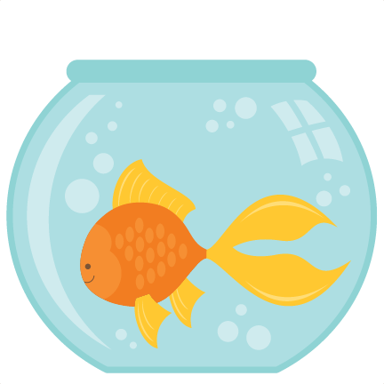 Goldfish in a bowl png