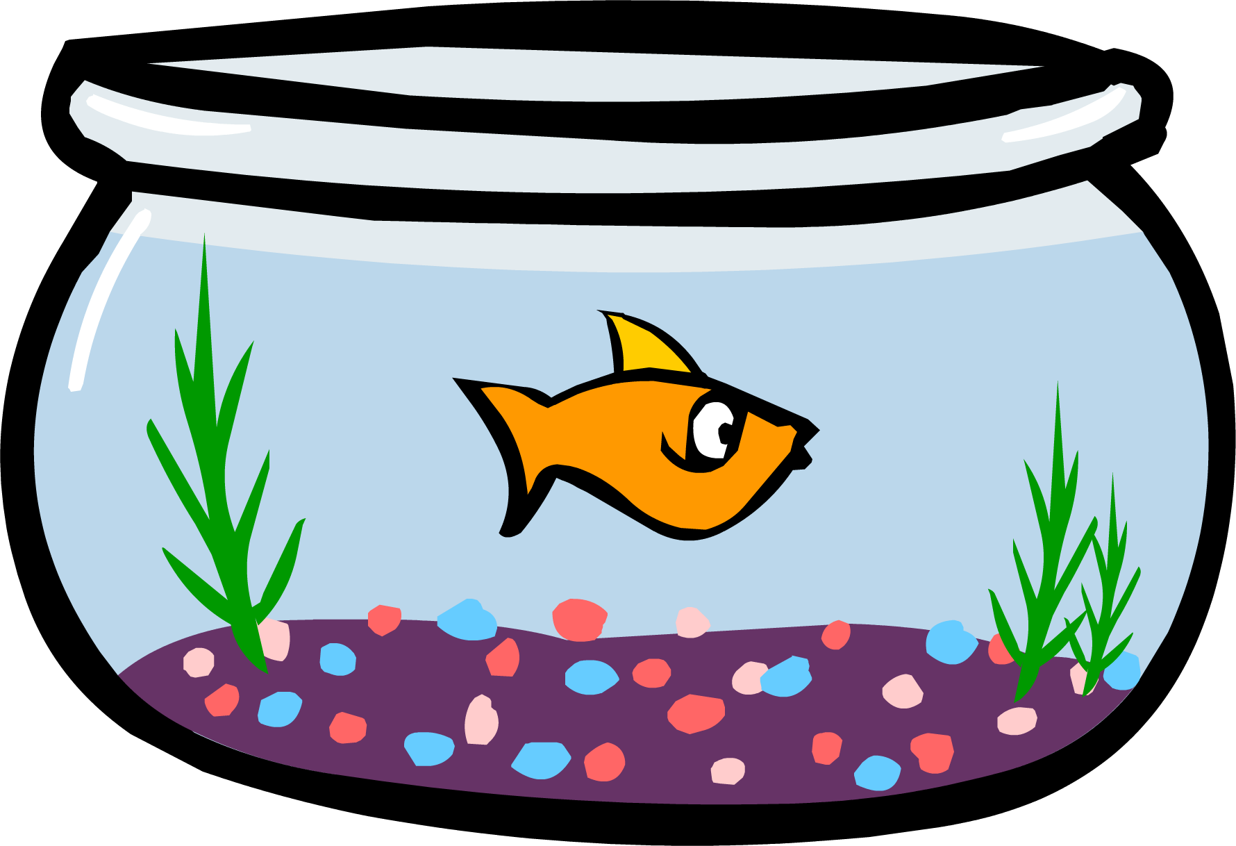fish in bowl png