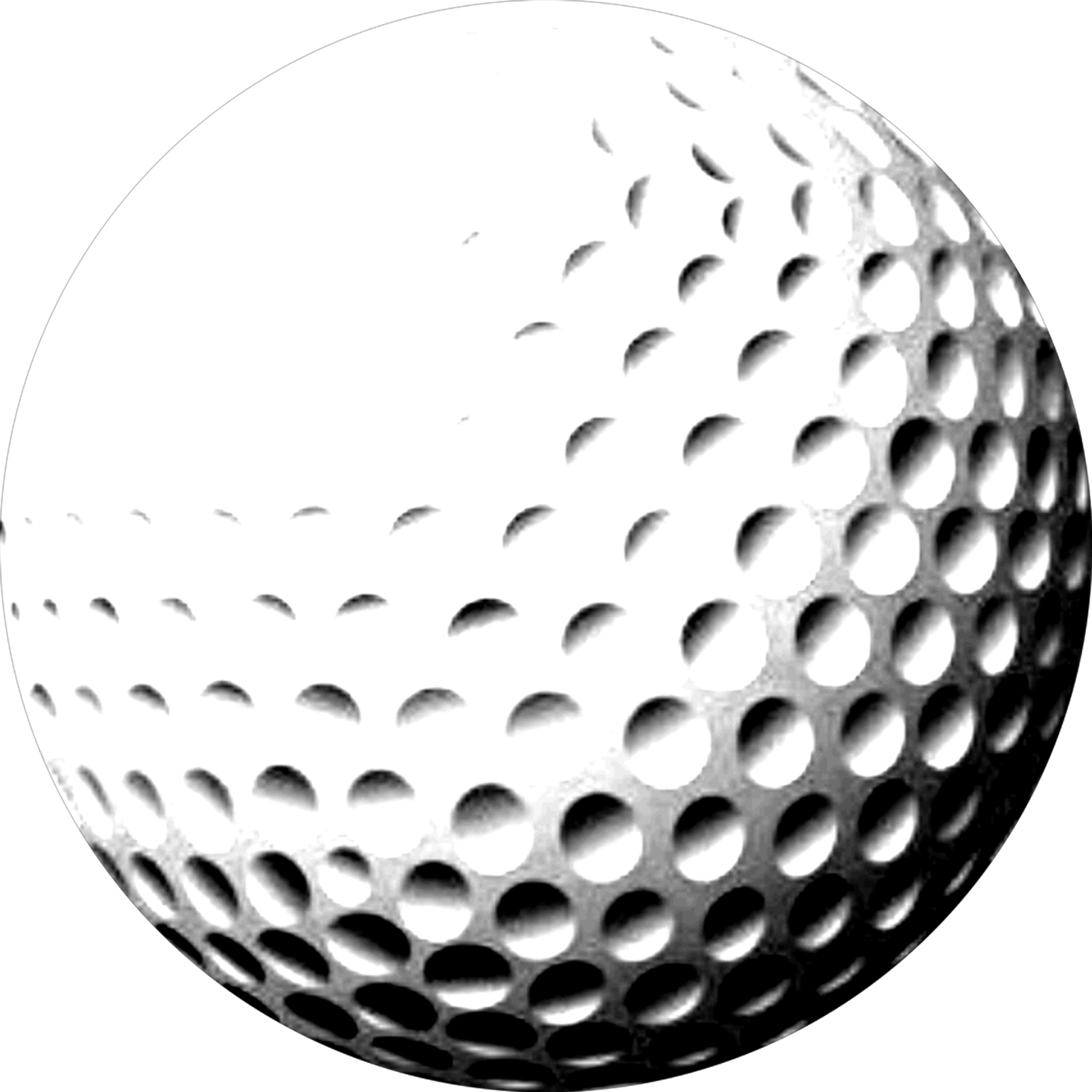 Golfball vector black and white. Png golf ball transparent