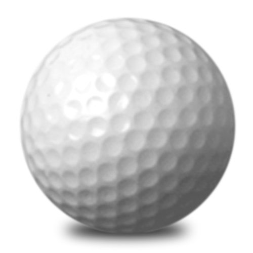 Golf ball png image. Sports balls icon free