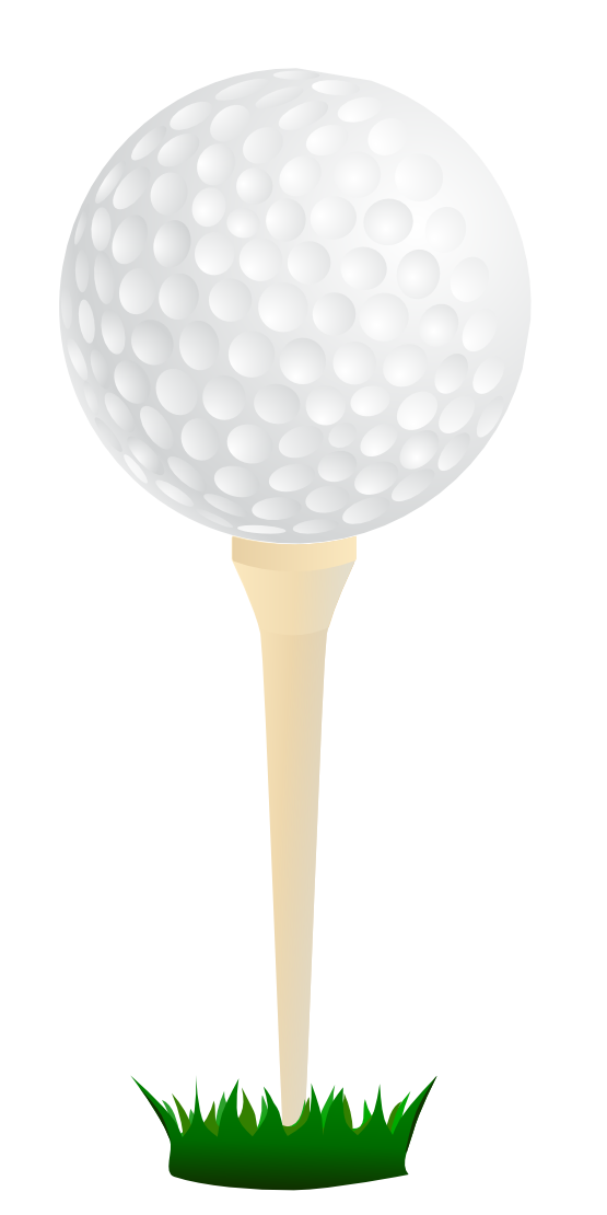 Golfball vector. Golf clip art free