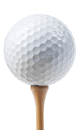 Golf ball on tee png. Transparent picture transparentpng