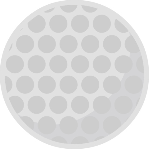 Golf ball png file. Image body gray battle