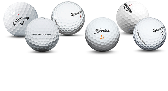 Golf ball png image. Used balls up to
