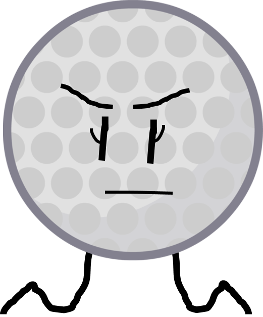 Golf ball png image. Object all stars wiki