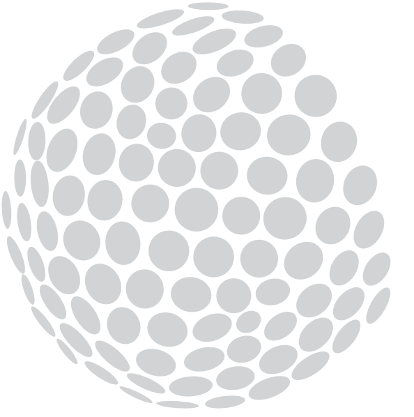 Golfball vector. Large golf ball clipart