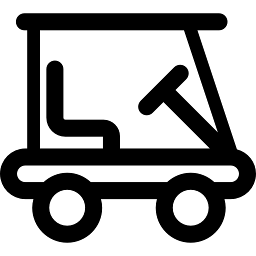 Golf cart silhouette png. Icon page svg