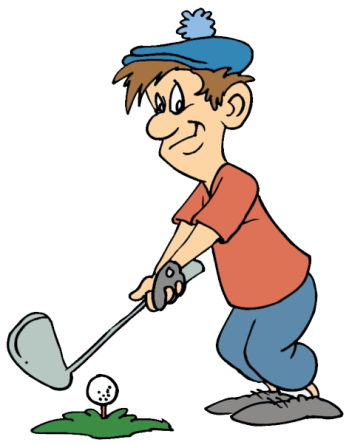 Golf cartoon png. Commercial league muirfield lakes