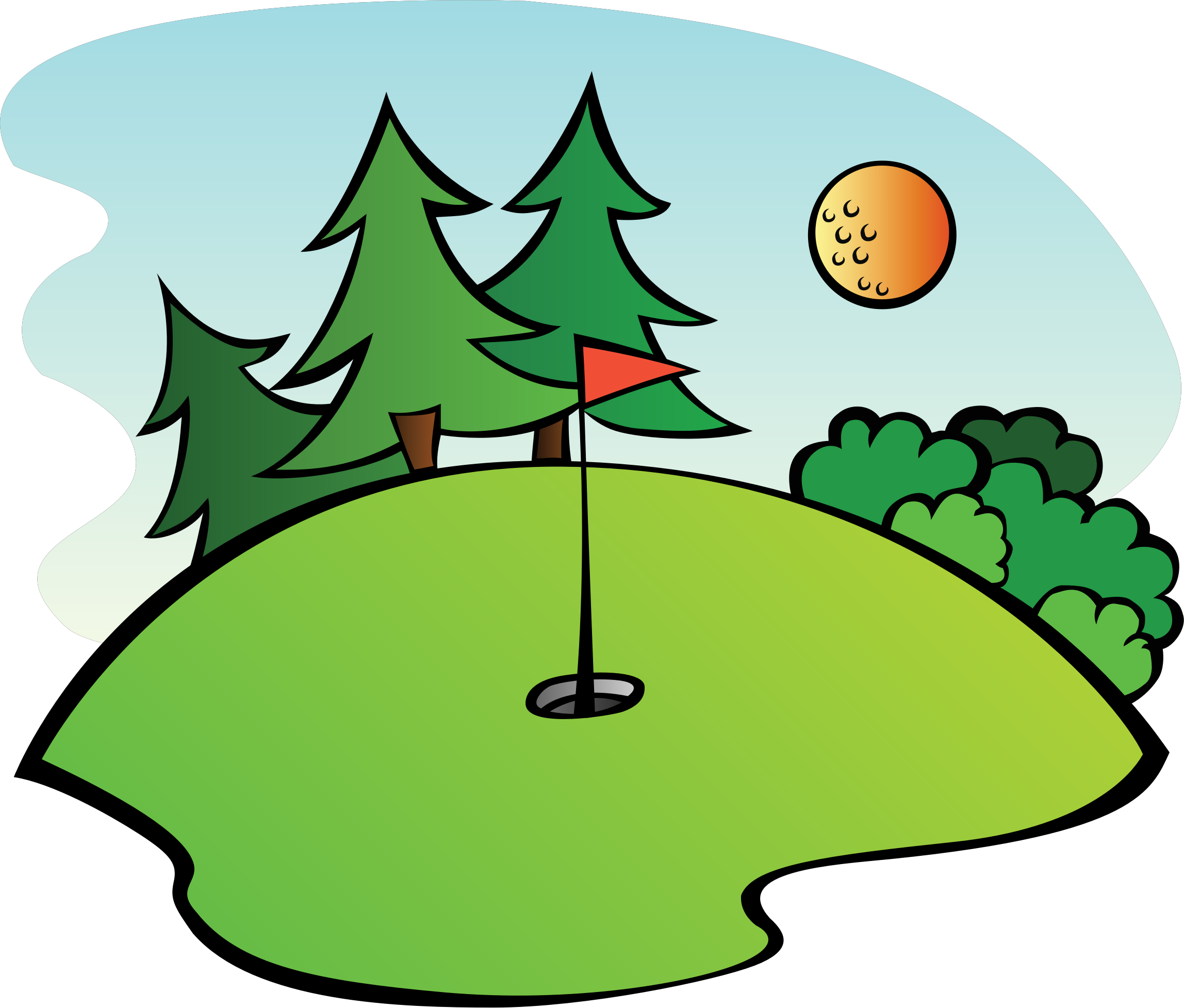 Golf course png. Icons free and downloads