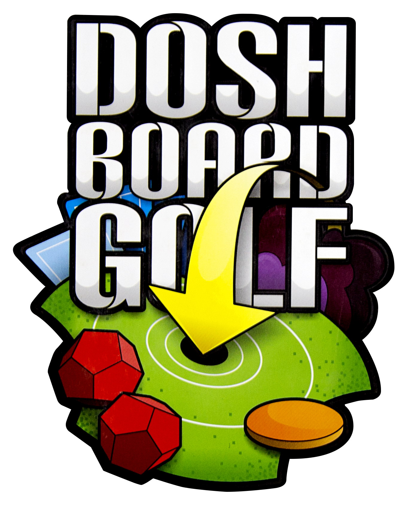 Golf clip game. Strategy board doshboardgolf multiplayer