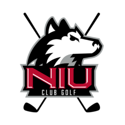 Golf clip team. Northern illinois university club