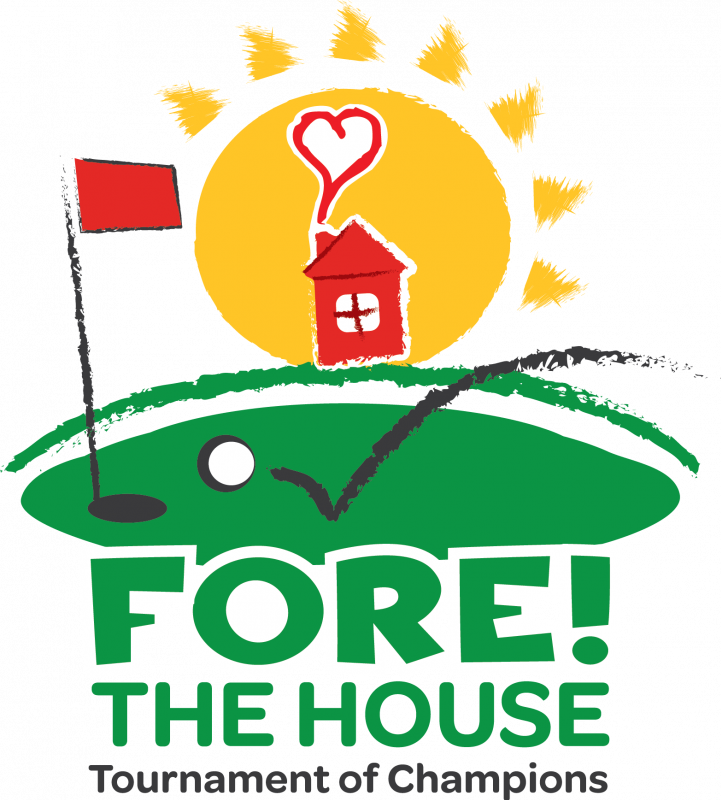 Fore the house of. Golf clip tournament image royalty free library