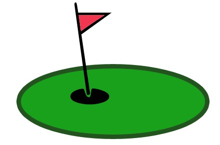 Golf clipart country club. July greens report from