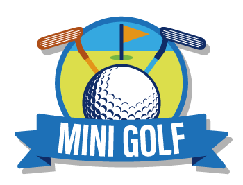 mini golf logo png