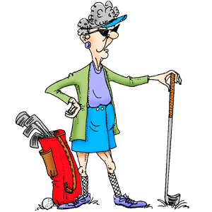 Golf clipart stuff. Queen of the course