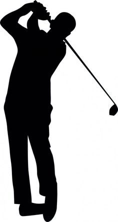 Golf clipart stuff. Club silhouette at getdrawings