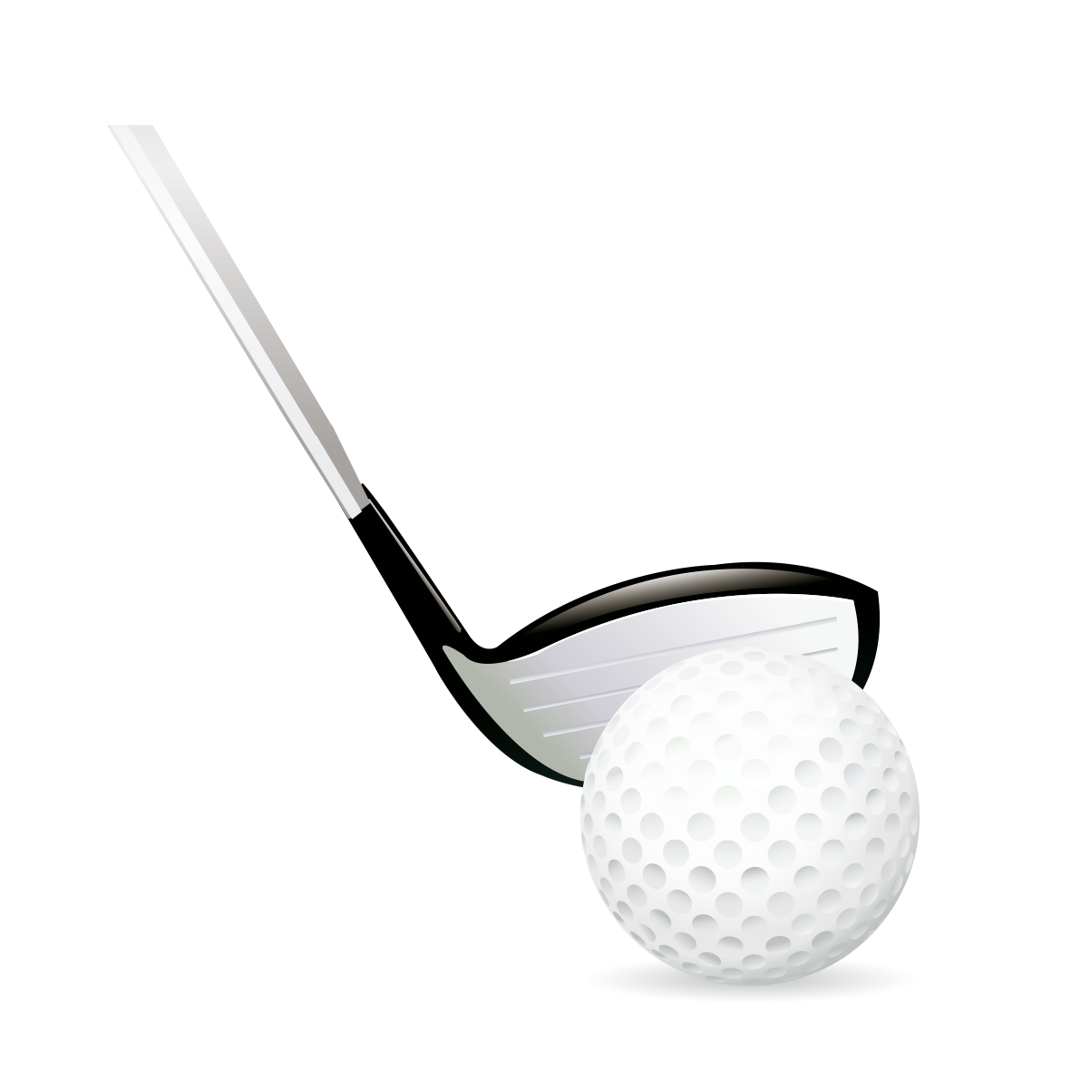 Golf club and ball png. Baseball bat transprent free