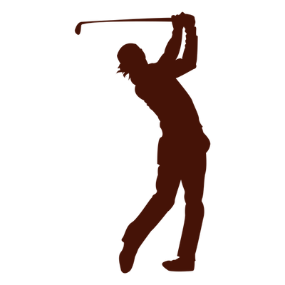 Golf club with ball png. Clubs silhouette at getdrawings