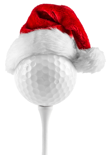 Golf club with ball png. Christmas wentworth an ace