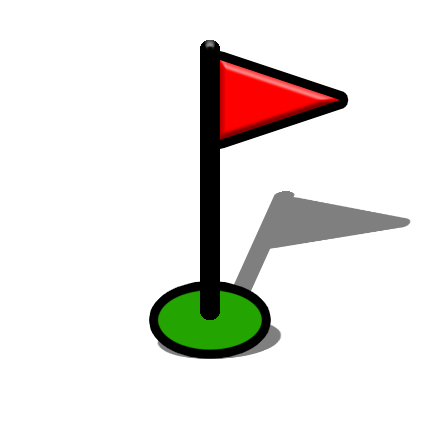 Golf course png. File map symbol wikimedia