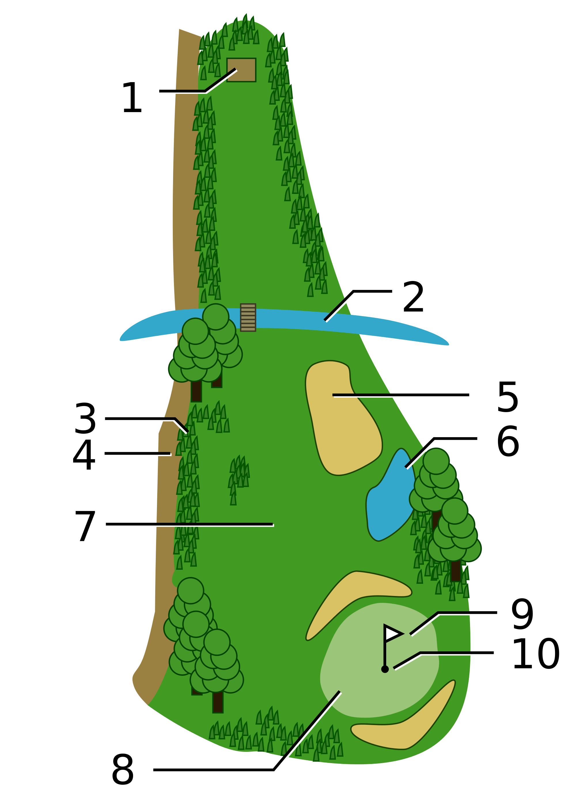 Golf course png. File field svg wikimedia