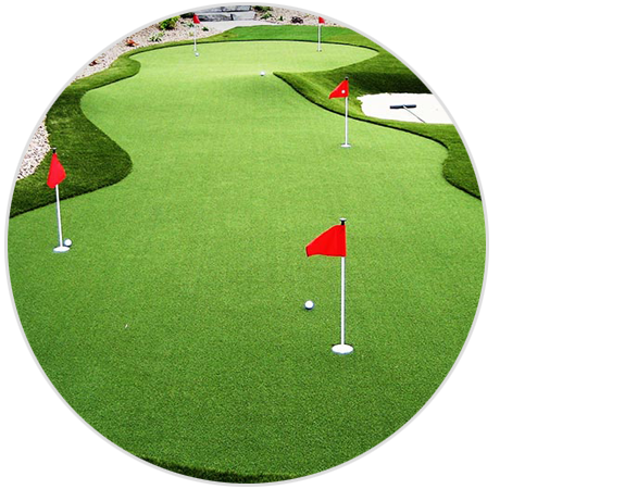 Golf green png. Custom putting greens and