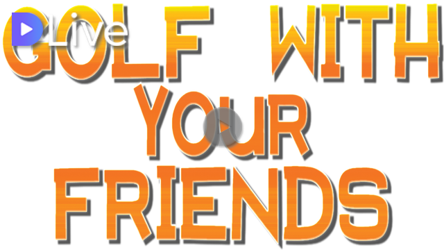 Golf with your friends logo png. Namuninja steemit thumbnail