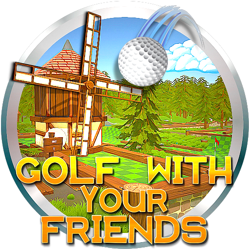 Golf with your friends logo png. By pooterman on deviantart