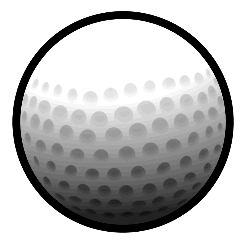 Golfball vector art. Related image uneekor inc